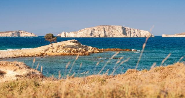 παραλία, φύση, μπλε θάλασσα, βράχια, νησί, Νάξος