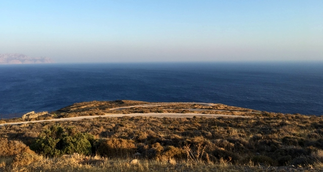 View of the Aegean sea from Nisyros, Dodecanese, holidays, ferry routes