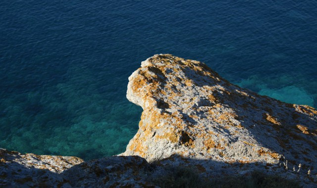 patmos, rocks, blue sea, diving, island