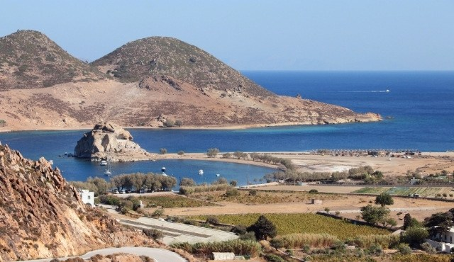 The famous Rock of Kalikatsou in Patmos