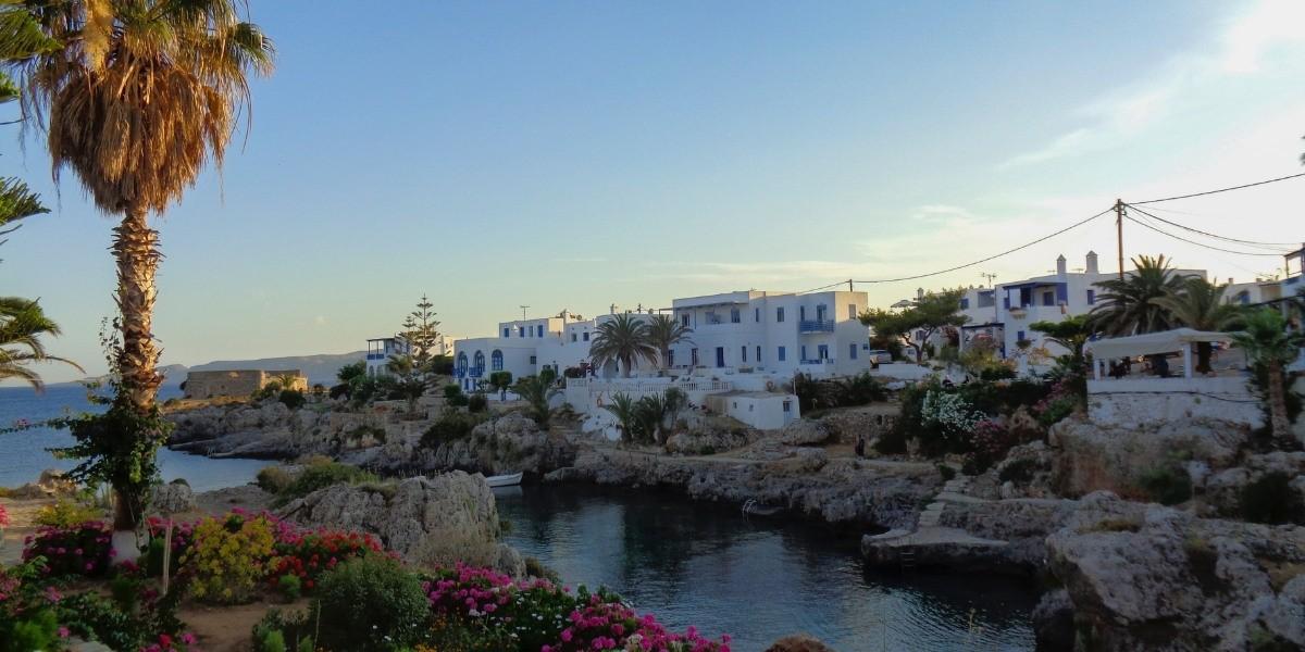Beautiful seaside village in Paxos