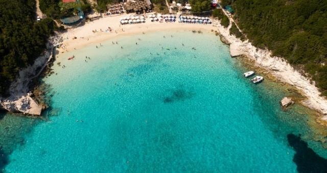 Magical beach in Antipaxi
