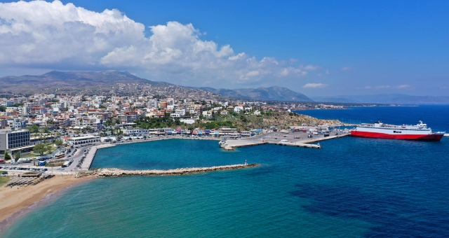 The port of Rafina