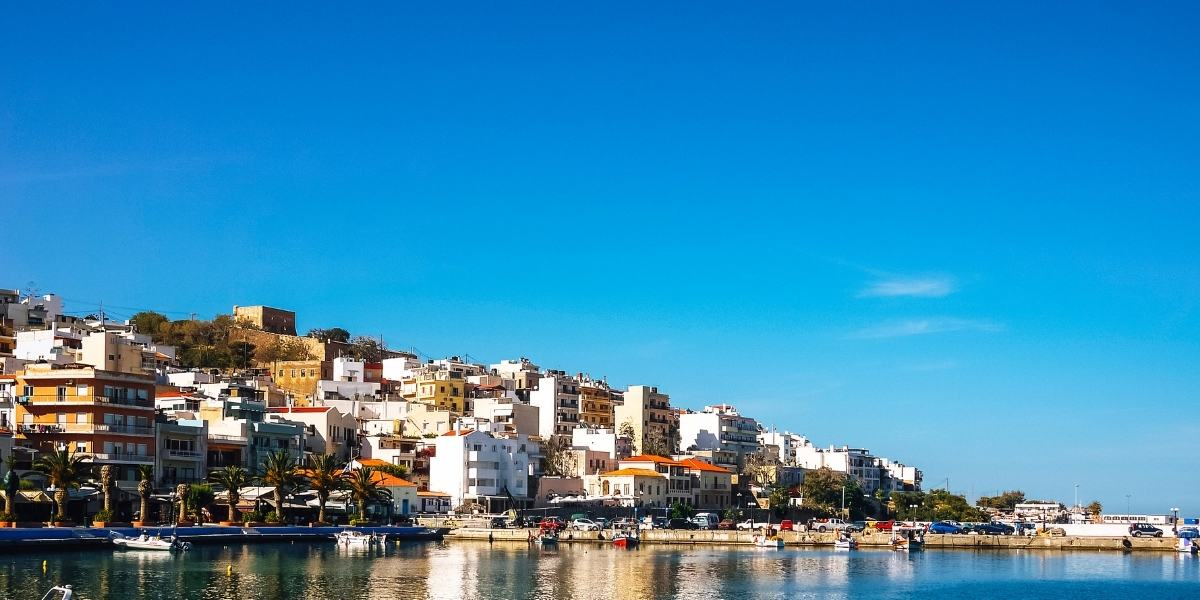 The port and town of Sitia