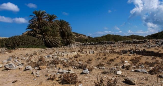 Itanos ruins close to Sitia