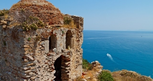 Remnants of the Castle of Skiathos