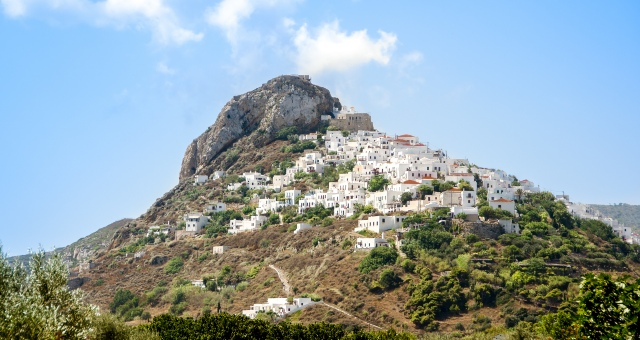 The castle of Skyros in Chora
