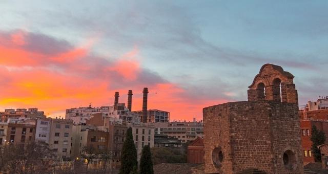 The neighborhood of Raval, Barcelona
