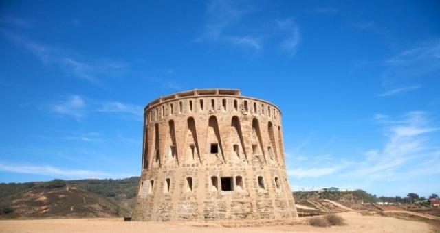 Old watchtower in Ceuta