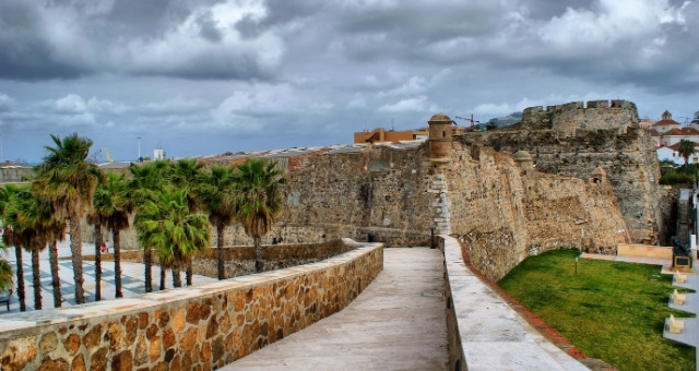 The fortress of Ceuta