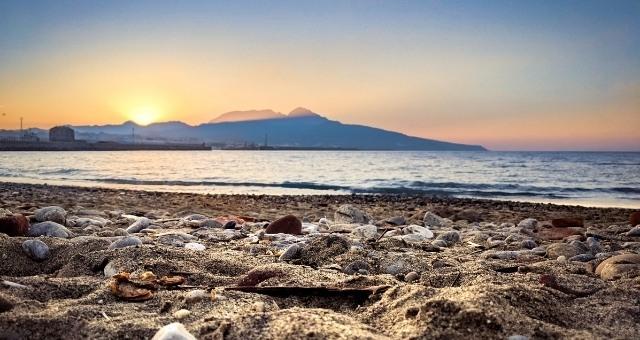 San Amaro beach in Ceuta