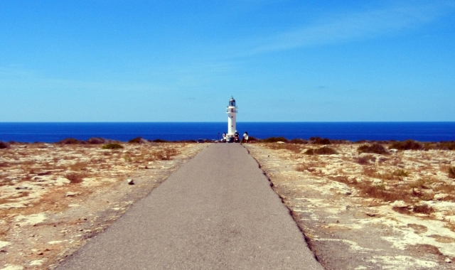 Lighthouse, Sky, Blue sea, Formentera, Denia, Ferry routes