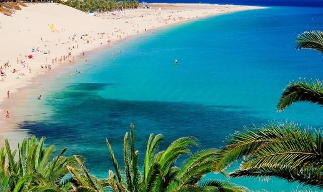 Aperçu de la plage de Matorral de Fuerteventura, Espagne