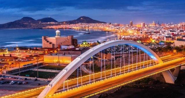 Las Palmas de Grande Canarie de nuit