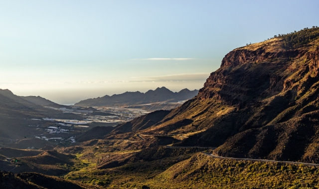 Mountain, Aerial View, Nature, Sky, Gran Canaria, La Palma, Ferry tickets