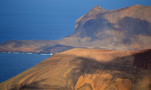 Yellow Mountain, Sea, Holidays, La Graciosa, Canary islands, Ferry routes