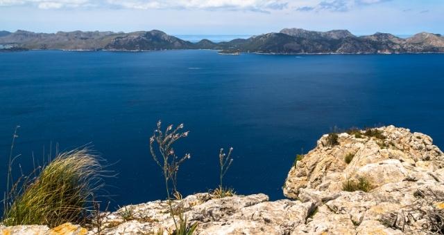 Hiking trail close to Alcudia in Mallorca