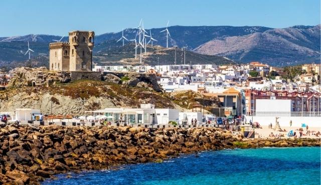 Panorama della città di Tarifa