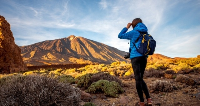 The national park of Mount Teide