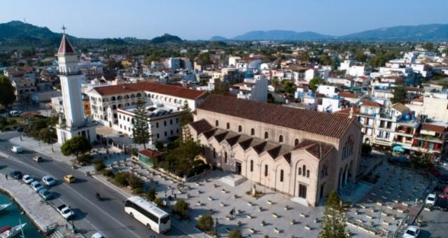 The church of Agios Dionysios in Zante